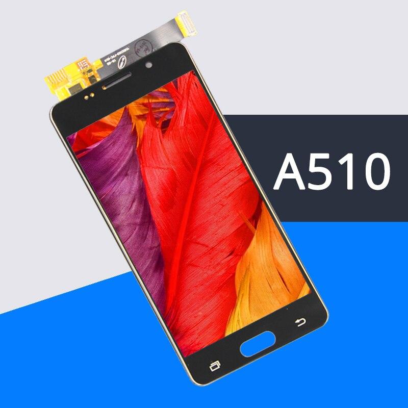 100% Essai Grade AAA Pour A5 2016 LCD Affichage A510 A510F A510M Remplacement Écran Tactile de L'assemblée D'écran Livraison Trempé film + outils