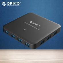 ORICO ABS 7 Port Super Speed USB 3 0 HUB BC1 2 Smart Charging HUB with