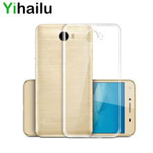 For Huawei Y5 II 2 Case For Huawei Honor 5 Case Cover Transparent Slim TPU Silicone Bac Cover For Huawei Y5II 5.0 inch Cases