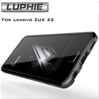 Luxury For Lenovo ZUK Z2 5 0 Original Luphie Aluminum Metal Bumper Case Frame Cover Metal