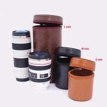 Мягкий объектива протектор Камера объектив чехол для DSLR Nikon Canon sony Panasonic Pentax кофр для объектива противоударный