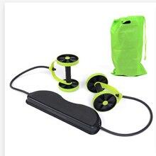 Ab роликовое колесо с ковриком тренажер для брюшного пресса, тренажер для рук, талии, упражнений для ног, многофункциональное оборудование для фитнеса, Упражнение