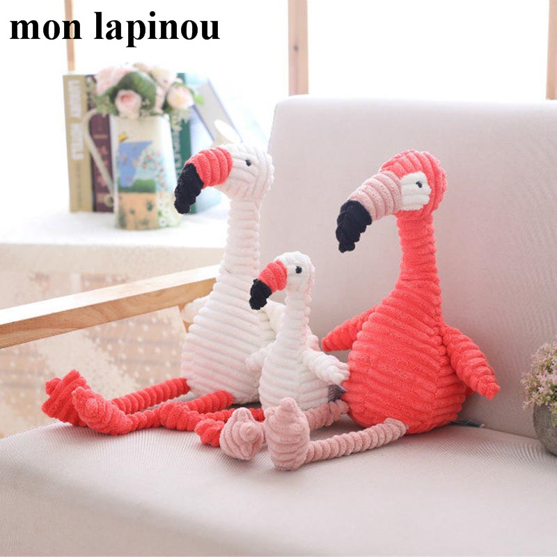 20cm/30cm Plush Flamingo Toys Stuffed Animal Soft Doll Toys For Children Baby Kids Appease Toy Gift For Girl стоимость
