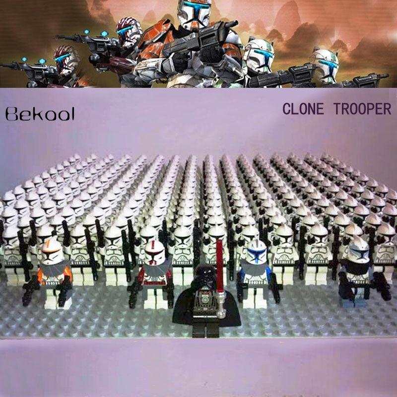 Commander Wolffe for Lego Minifigures Custom Clone PISTOL LOT for Captain Rex