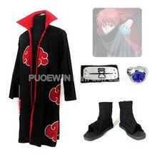 Hot Naruto Akatsuki Sasori Cosplay Costume Halloween Costume Full Set hot naruto sai cosplay costume halloween costume full set
