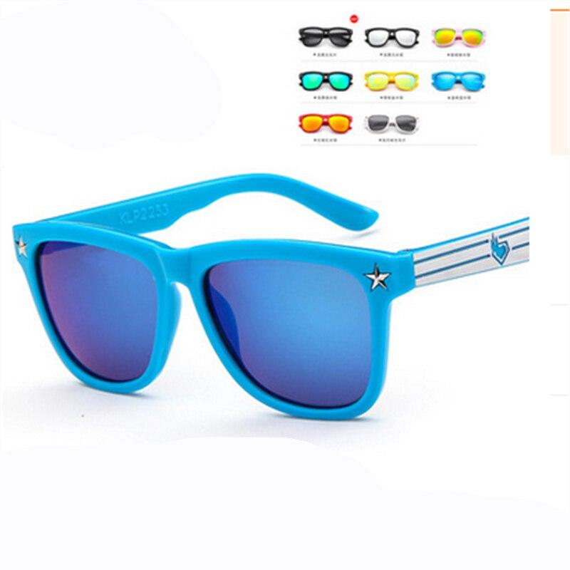 Fashion Round Kids Sunglasses Children Sun Glasses Baby Vintage Eyeglasses Girl Cool 8 Color oculos infantil de sol