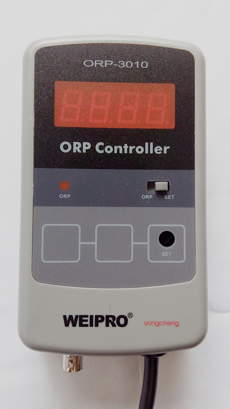 AQUARIUM ORP Meter and Controller WEIPRO ORP - 3010, working with ozonizer, 110v and 220v version, with universal power socketAQUARIUM ORP Meter and Controller WEIPRO ORP - 3010, working with ozonizer, 110v and 220v version, with universal power socket