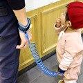 Bebé niño Niños Correa de Arnés de Seguridad Del Niño Perdido Anti Muñeca Enlace Tracción Cuerda Perdida Anti Pulsera de Seguridad Del Bebé