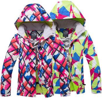 Winter Women's Ski Jacket Outdoor Waterproof Hunting WindStopper Warm Skiing Coat Climbing Trekking Snowboard Jacket