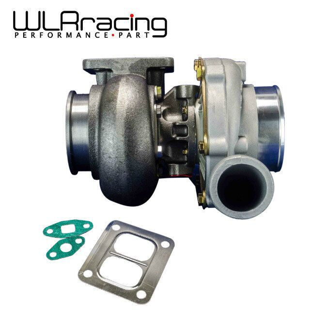 WLR RACING - HIGH QUALITY TURBO GT45R Turbo charger .70 cold,1.0 hot external w/g t4 flange TURBOCHARGER WLR-TURBO34