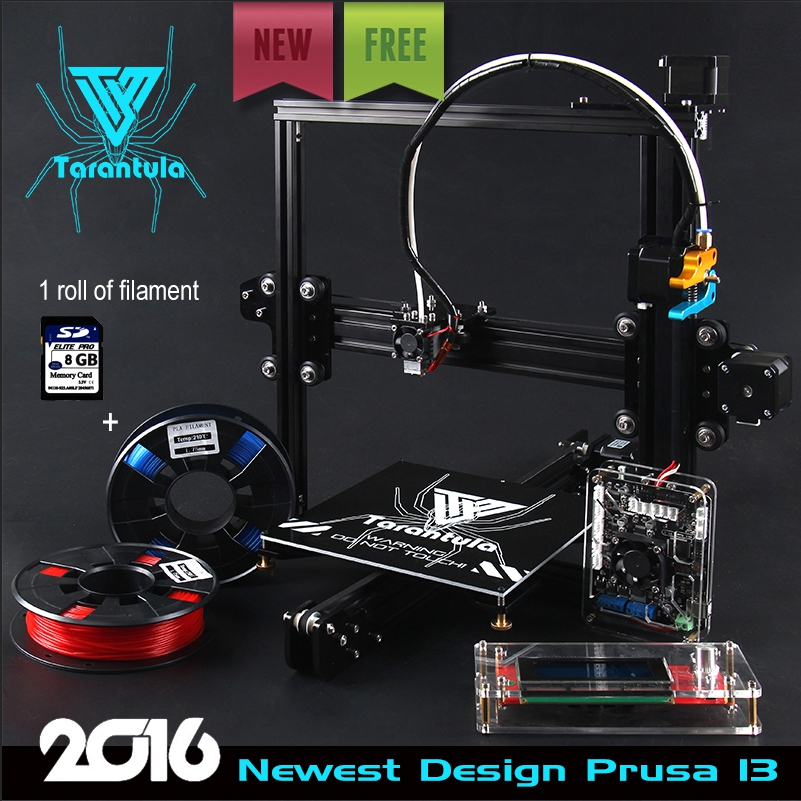 Tevo Tarantula 3d printer Electron 3D Slimbot - Single/Dual Extruder 3D Printer Kit/dual extruder 3d printer reprap prusa I3