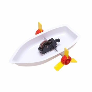 1 Pc/Pack Fasinating Interesting DIY Paddle Ship for Children Physics & Mathematics Education image