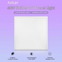 Milight new 40W RGB+CCT led Panel Light FUTL01 2.4G Wireless remote control Smartphone APP
