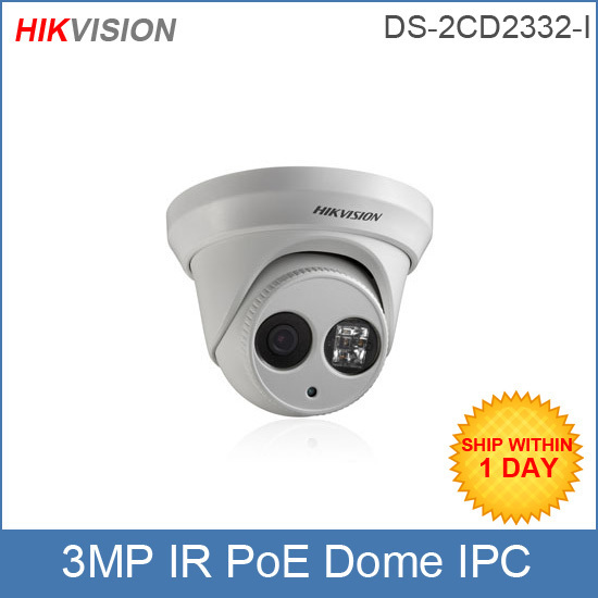 Hikvision Ip Camera Ds 2cd2332 I 4mm 3mp Hd 1080p Dome