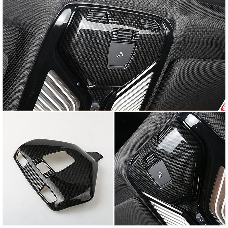 car accessories Chrome Plate ABS Center Air Outlet Vent Panel Cover Trim For BMW 5 Series G30 G31 2017 2018|Chromium Styling| |  - title=
