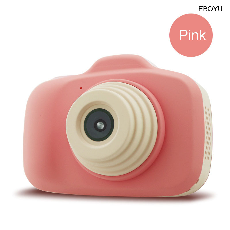 EBOYU 903 Kids Digital Camera Gift for Girls Boys 2.3 Inches HD Screen 12MP Video Camera for Kids Shockproof Children Selfie Toy image