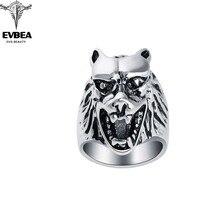 Bijoux Wholesale Men Jewelry Punk Gothic Animal Bible Biker Rings Skull Couple Jewelry Accessories