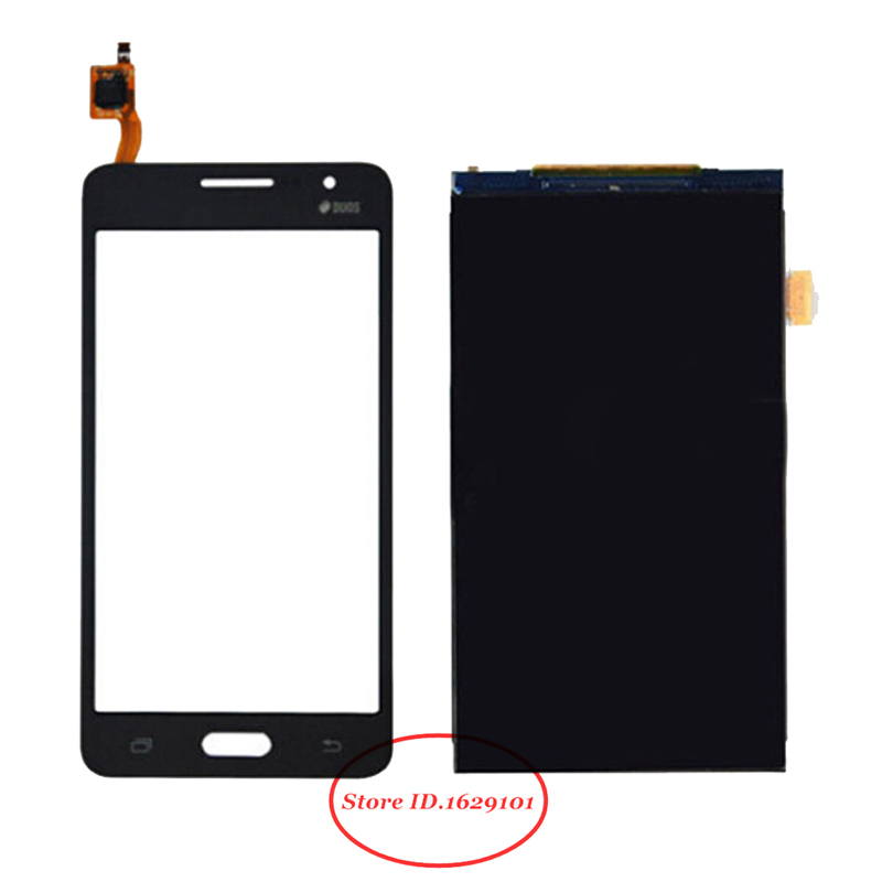 TOP Quality For Samsung Grand Prime Duos G530 G530H G5308W Touch Screen Digitizer Glass Panel + LCD Display Replacement Parts