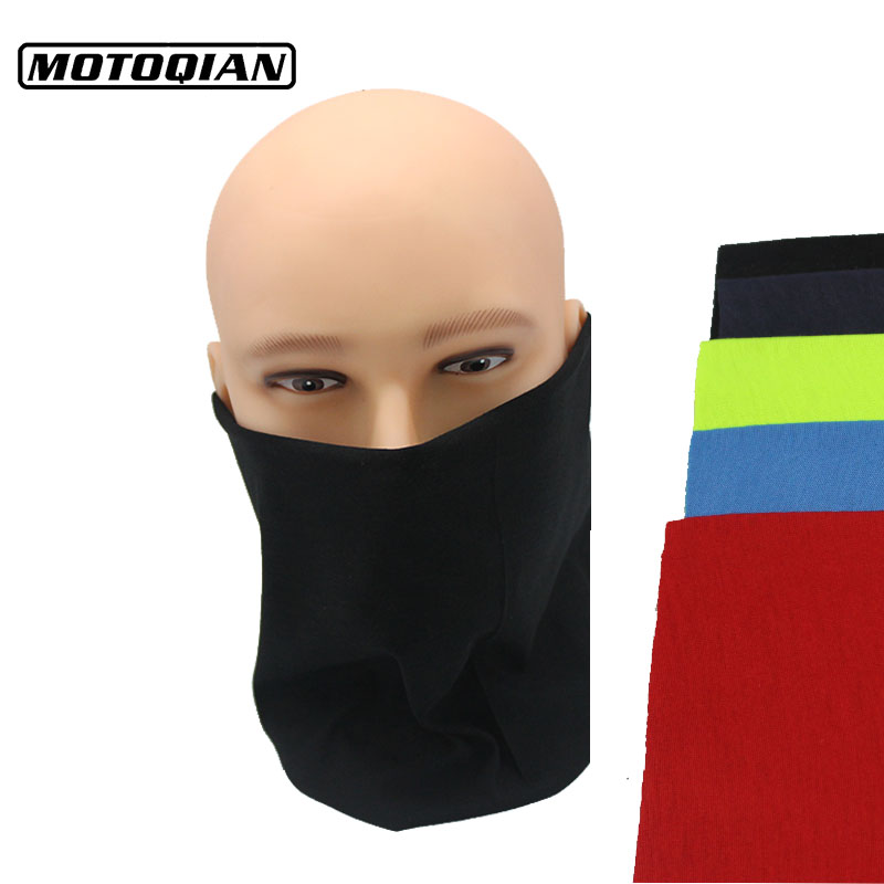 Motorcycle Scarf Face Mask Motorbike CS Ski Headwear Bandana Neck Party No Skull Mask For Halloween Black Blue Red Unisex Masks evomosa motorcycle mask skull ghost mask biker face shield face masks neck scarf balaclava halloween masquerade mask unisex