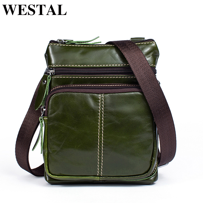 WESTAL Women Bag ladies Genuine Leather Women Shoulder Bag Female Crossbody Bags Small Flap Casual Mini Messenger Bags 701 women messenger bags genuine leather single shoulder bags solid small flap women handbags mini classic box