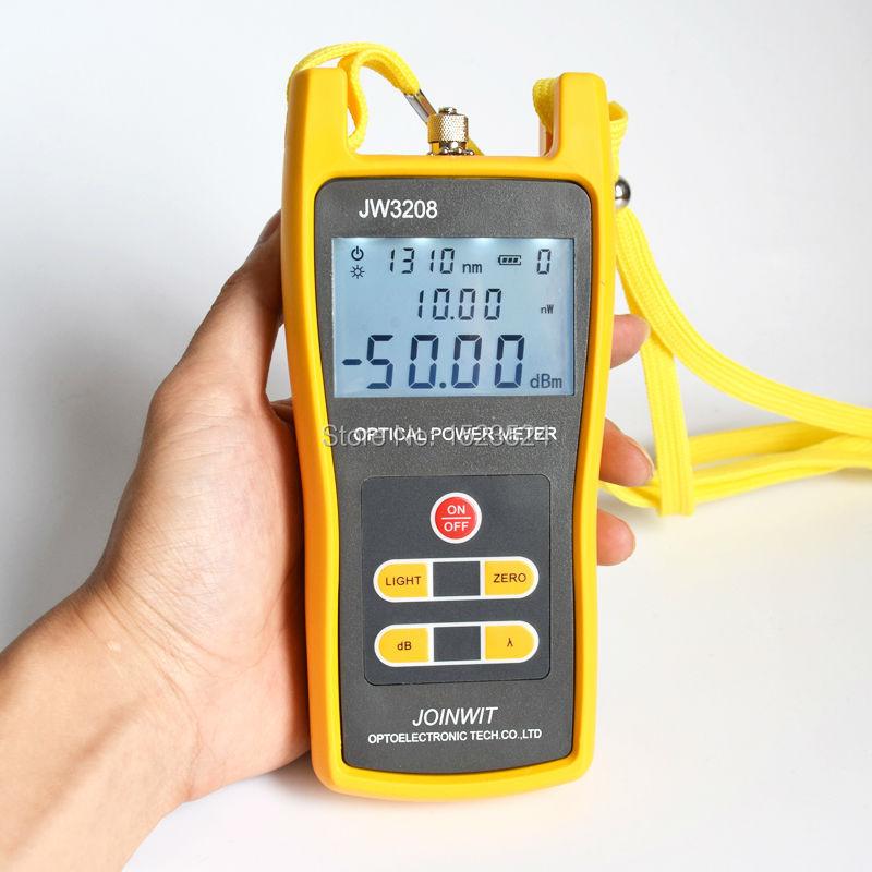 JW3208C  -50~+26dBm Handheld Fiber Optical Power Meter