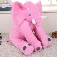 60*45*28cm Soft Baby Animal Elephant Pillow Children Sleeping Cushion Room Baby Bed Pillows Decoration Kids Doll Baby Seat Plush