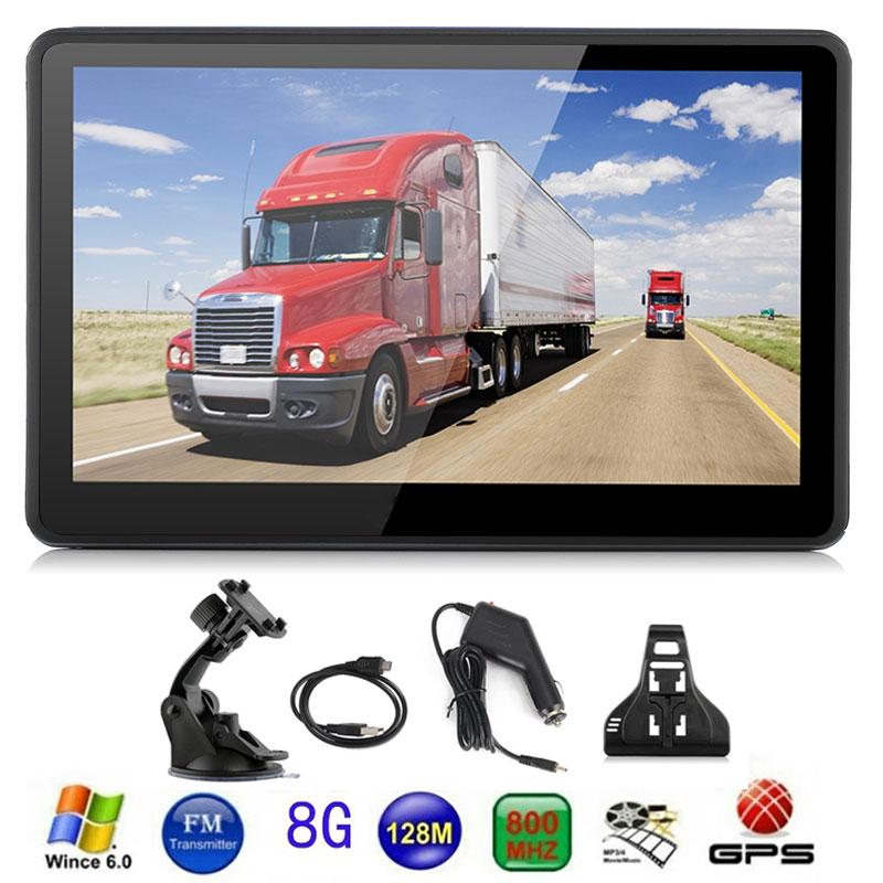 Vehemo 8GB Truck Navigator GPS Navigator Video 800MHZ for Android Navigator Car GPS Navigation Universal Automobile Audio sock slider aid blue helper kit help