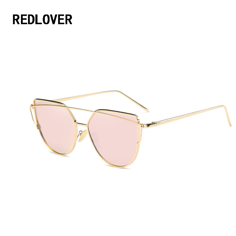 7f5f8631764 Best buy 2017 New Fashion large frame Women Sunglasses Brand Designer  Shopping Flat Top Sun Glasses Female Vintage Retro Metal eyewear online  cheap