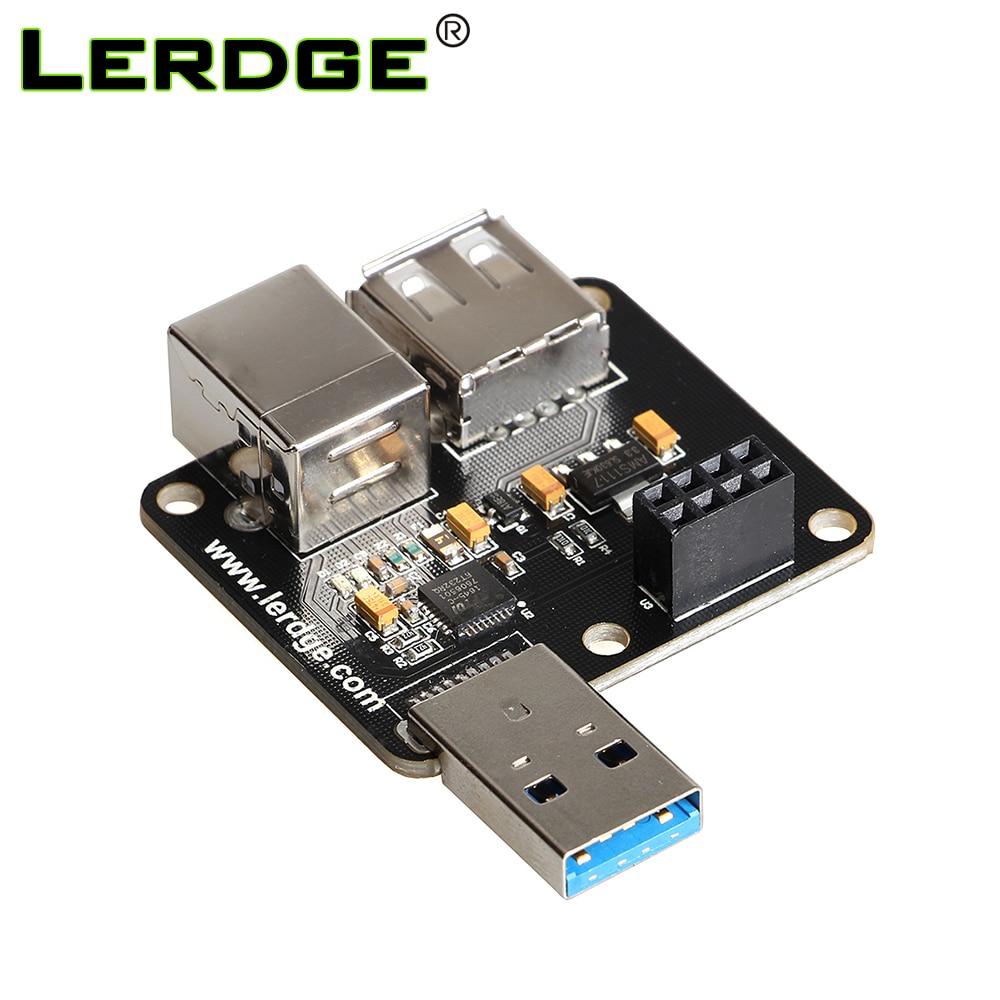LERDGE 3D Printer Part USB Module PC-Linked Printing Module Online Print Use For Lerdge-S Motherboard 32bit Controller