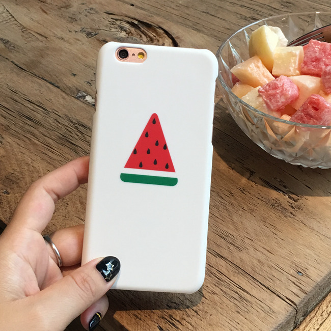 2016 The Newest Summer Cool Fruit Watermelon Red PC hard Case Cover For iPhone 6 6 plus 6splus