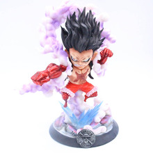 Snake man Anime ONE PIECE Monkey D. Luffy GK Gear Fourth Luffy Action Figure Snakeman Collectible Model Toy 8 66statue one piece the straw hat pirates monkey d luffy vs rob lucci gk action figure collectible model toy 22cm box d822