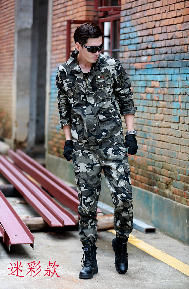 Fashion Casual Mens Military Style Usa Army 101 Airborne Division Sets Special Forces Clothes Air Force Jacket And Pant 4 Color