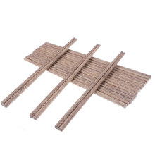 10 Pairs/1Pair Natural Japanese Wooden Bamboo Chopsticks Health Lacquer Without Wax Tableware Dinnerware Wholesale(China)