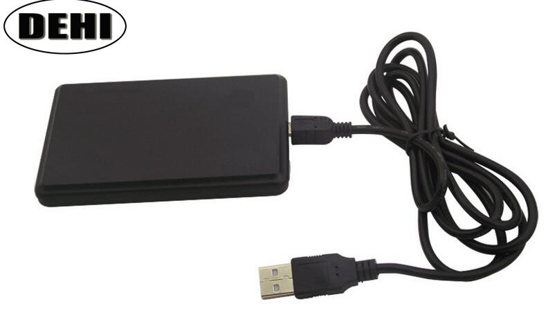 125KHz + 13.56MHz USB RFID Readers  Dual Frequency Reader Proximity Sensor Smart Card Reader No Drive For Access Control