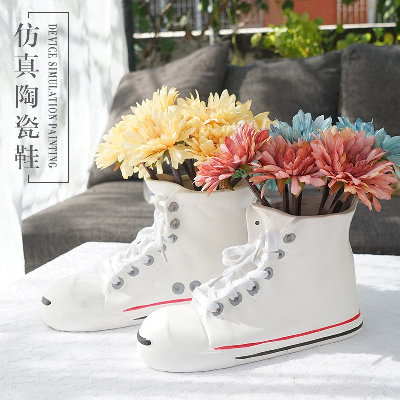 Online Buy Wholesale Shoe Vases From China Shoe Vases