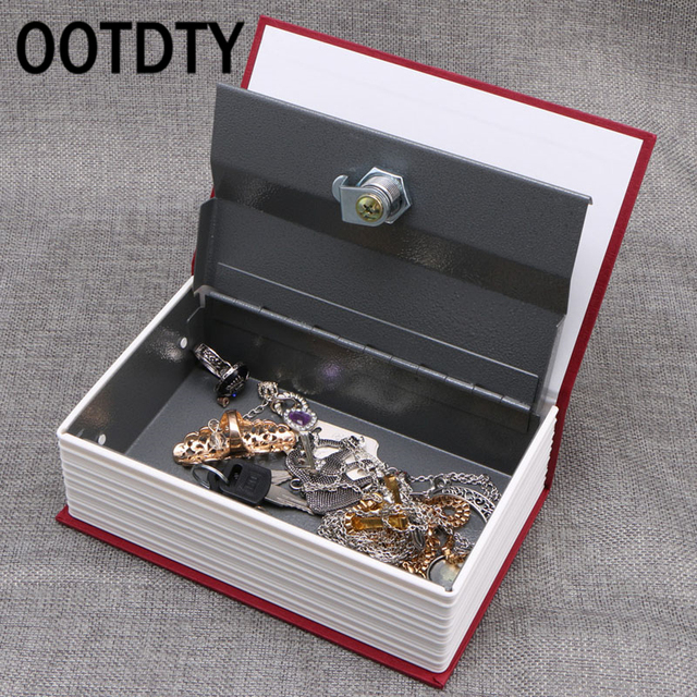 OOTDTY Hot 2017 Safty Box Money Secret Storage Security Safe Locker Money Jewelry Safty Collection Case & OOTDTY Hot 2017 Safty Box Money Secret Storage Security Safe Locker ...