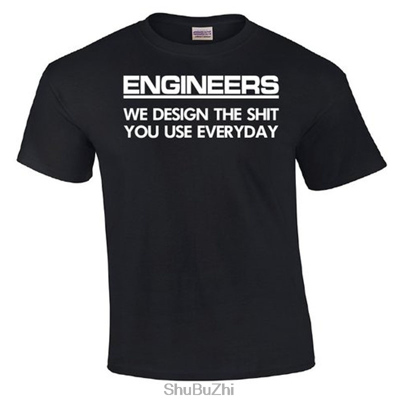 82689aaee227 Engineers We Design The Sh*t   Engineering T shirt   Engineer T shirts    Funny Engineering Tshirt   Mens T shirt-in T-Shirts from Men's Clothing on  ...