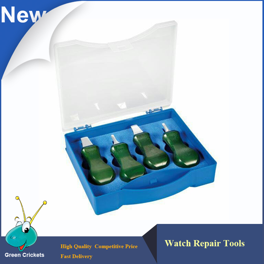 Uhr Öffnen Messer Für Uhrmacher Und Batterie Ersatz 4 Teile/satz Qualität Uhr-reparatur-tools & Kit Uhr Zurück Fall Opener Set Uhren Uhrenzubehör