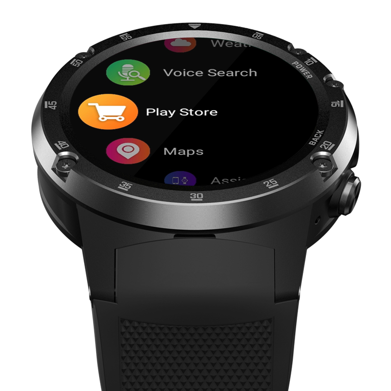 4G Wifi GPS Smart Watch Zeblaze THOR 4 Plus SIM 1GB+16GB 5.0MP Camera SmartWatches  Android 7.1 MTK6739 QuadCore Wristwatch 2019 (3)