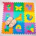 """Meitoku eva foam enigma do jogo do bebê tapete telhas de bloqueio almofada animal, cada 30 cm x 30 cm = 12 """"x 12"""" 1 cm de espessura"""