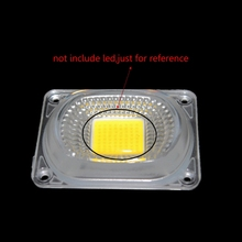 цена на LED Lens Reflector For LED COB Lamps PC lens+Reflector+Silicone Ring Cover shade-831F