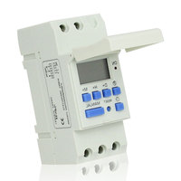 CE Approved 220VAC DIN RAIL DIGITAL PROGRAMMABLE TIMER SWITCH