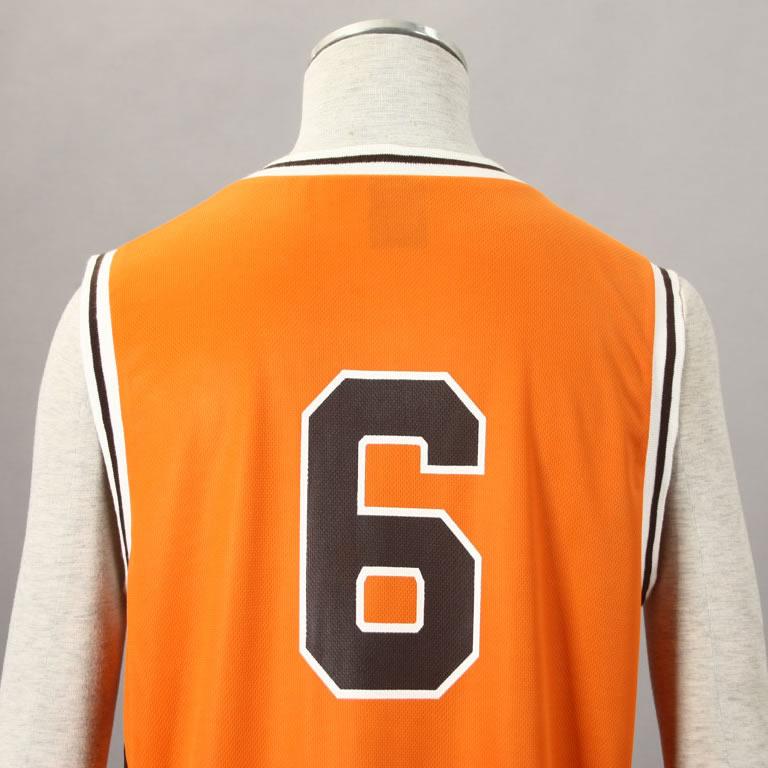 37e80a64b Kuroko no basket No. 6 Midorima Shintaro Cosplay Costume Shutoku Basketball  Team Uniform Orange Wholesale-in Anime Costumes from Novelty   Special Use  on ...