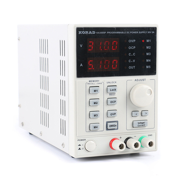 KORAD KA3005P Programmable Precision Adjustable 30V 5A DC Linear Power Supply Digital Regulated Lab Grade USB RS232 Interface - discount item  13% OFF Electrical Equipment & Supplies