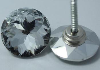 500pcs/lot 20-30mm bauhinia Glass Crystal Nails Button Crystal buckle soft bag. Sofa nails. diamond buckle. Crystal Buttons