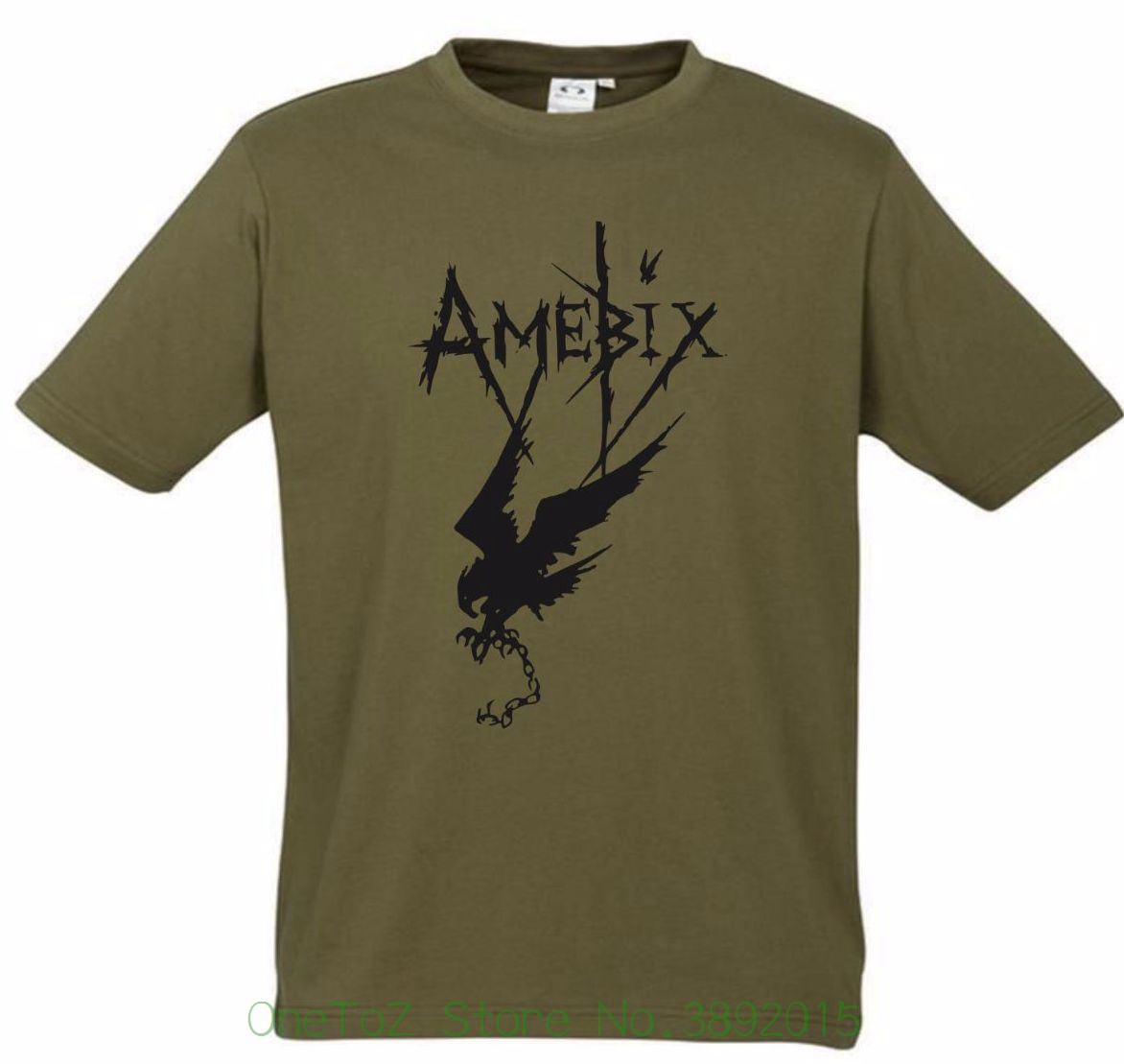 100 % Cotton T Shirt For Boy Amebix T-shirt New Khaki Black T Shirt S - Xxl Punk Rock Anarchy Band Crass Tee Easy And Simple To Handle