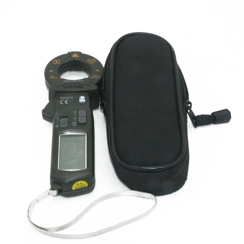 MASTECH MS2007B AC 150A Mini Digital Clamp Leaker High sensitive meter LCD 1999 counts