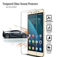Ultra Thin 9H Tempered Glass Screen Protector for Huawei 4X 4C V8 P6 P7 P8 Max P9 lite Mate 7 8 s G7 PLUS Glass Protective Film