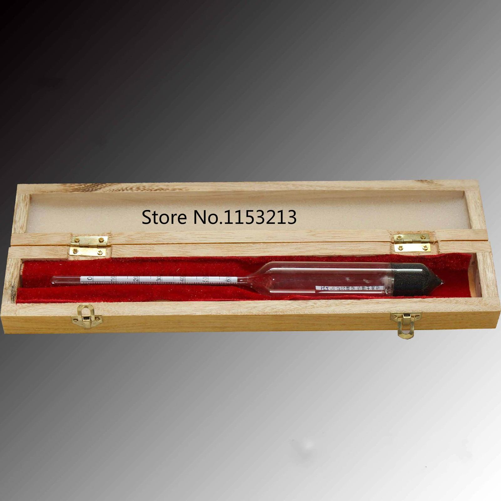 A soil densitometer hydrometer soil analyzer TM-85 standard soil hydrometer 0-60 wooden cylinder length of 25cm цена