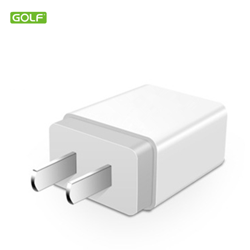 GOLF 5V 1A EU US USB Wall Charger For iPhone 4S 5 5S 6S 7 8 Plus X Samsung LG Redmi Honor Android Phone Universal Travel Adapter ...